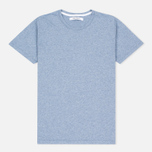 Женская футболка Norse Projects Gro Mercerised Cotton Pale Blue Melange фото- 0