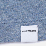 Женская футболка Norse Projects Gro Mercerised Cotton Pale Blue Melange фото- 2