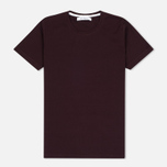 Женская футболка Norse Projects Gro Mercerised Cotton Plum фото- 0