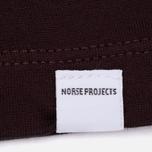Norse Projects Gro Mercerised Cotton Women's T-shirt Plum photo- 2