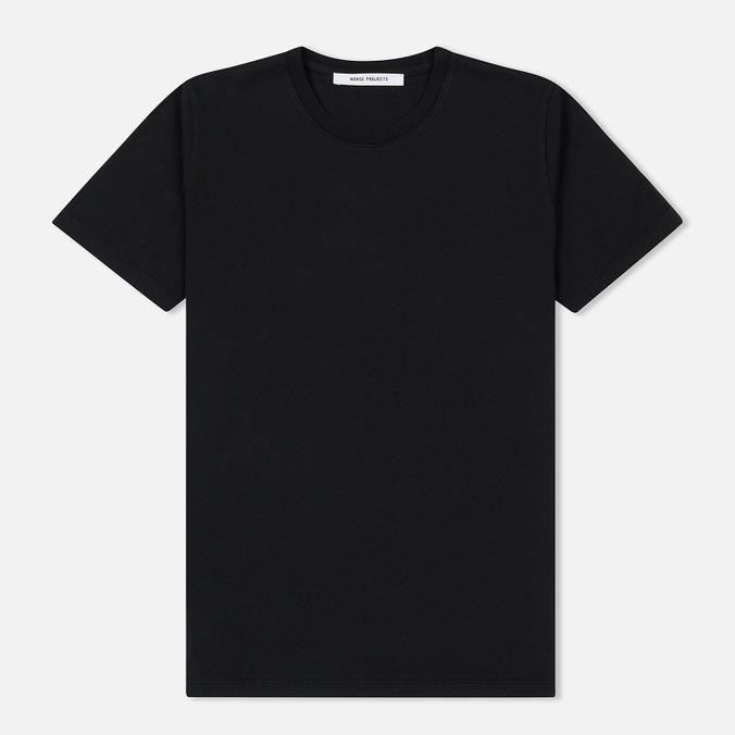 Женская футболка Norse Projects Gro Pima Cotton Black