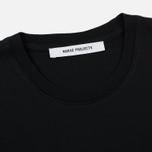 Женская футболка Norse Projects Gro Pima Cotton Black фото- 1