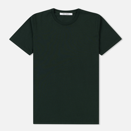Женская футболка Norse Projects Gro Pima Cotton Moss Green