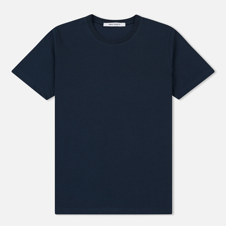 Женская футболка Norse Projects Gro Standard Cotton Dark Navy