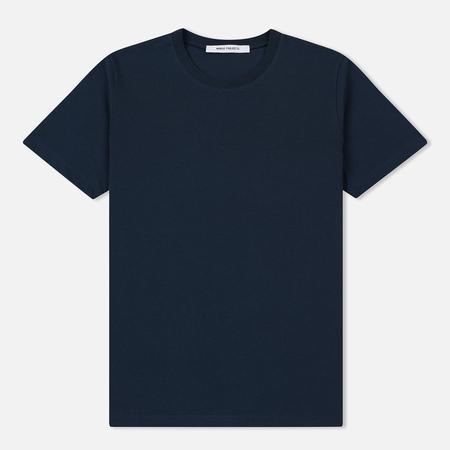 Женская футболка Norse Projects Gro Standard Cotton Dark Navy