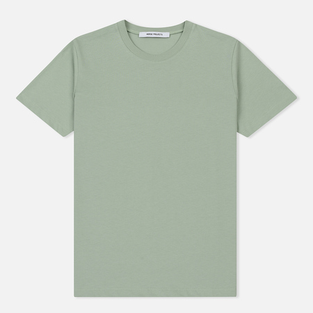 Женская футболка Norse Projects Gro Standard Cotton Pale Jade