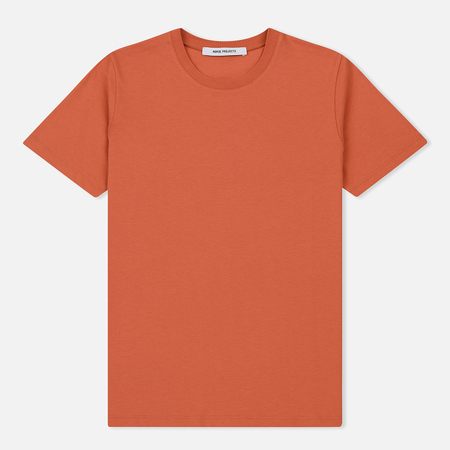 Женская футболка Norse Projects Gro Standard Cotton Rust