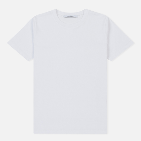 Женская футболка Norse Projects Gro Standard Cotton White