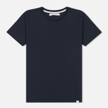 Женская футболка Norse Projects Gro Standard Dark Navy фото- 0
