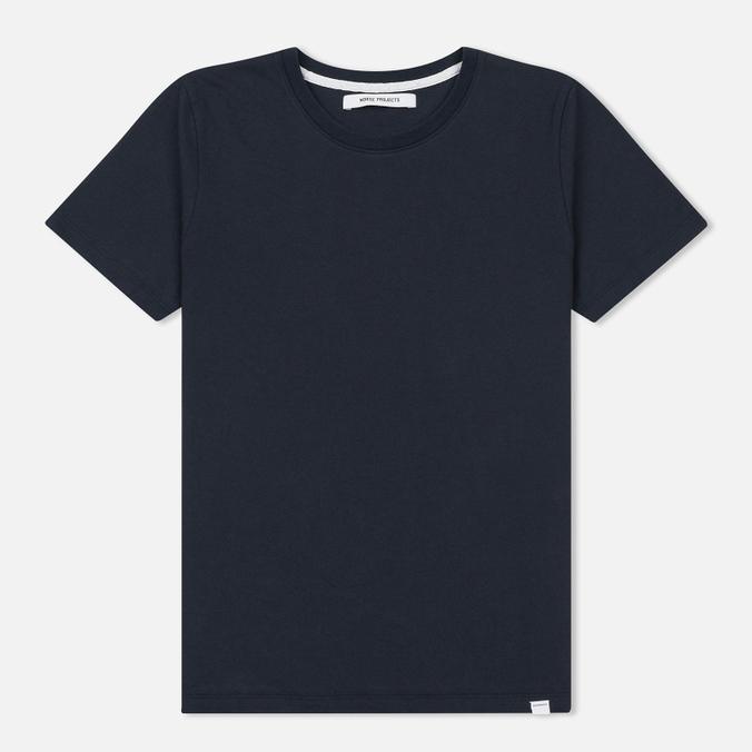 Женская футболка Norse Projects Gro Standard Dark Navy