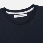 Женская футболка Norse Projects Gro Standard Dark Navy фото- 1