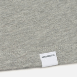 Женская футболка Norse Projects Gro Standard Mid Grey Melange фото- 2