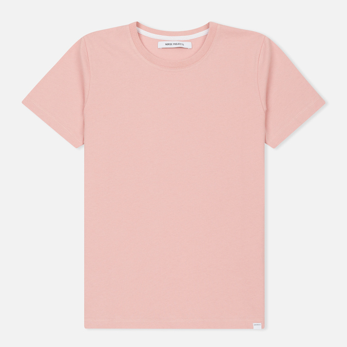 Женская футболка Norse Projects Gro Standard Petal Pink
