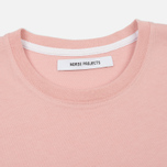 Женская футболка Norse Projects Gro Standard Petal Pink фото- 1