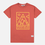 Женская футболка Penfield Peaks Red фото- 0