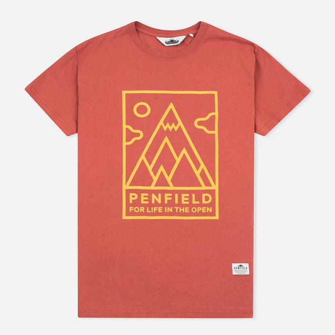 Женская футболка Penfield Peaks Red