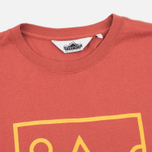 Penfield Peaks Women's T-shirt Red photo- 1