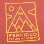 Женская футболка Penfield Peaks Red фото- 2