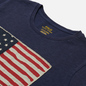 Женская футболка Polo Ralph Lauren American Flag Print Classic Royal фото - 1