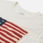 Женская футболка Polo Ralph Lauren American Flag Print Nevis фото - 1