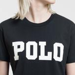 Женская футболка Polo Ralph Lauren Big Polo Print Black фото- 2
