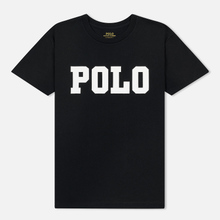 Женская футболка Polo Ralph Lauren Big Polo Print Black фото- 0