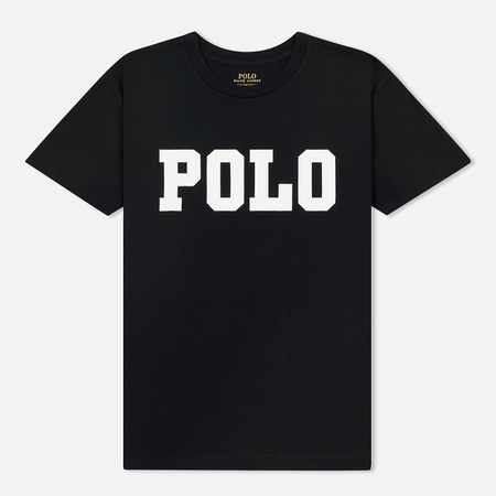 Женская футболка Polo Ralph Lauren Big Polo Print Black