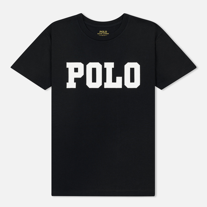 Женская футболка Polo Ralph Lauren Big Polo Print Black