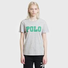 Женская футболка Polo Ralph Lauren Big Polo Print Cobblestone Heather фото- 1