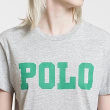 Женская футболка Polo Ralph Lauren Big Polo Print Cobblestone Heather фото- 2