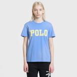 Женская футболка Polo Ralph Lauren Big Polo Print Lake Blue фото- 1