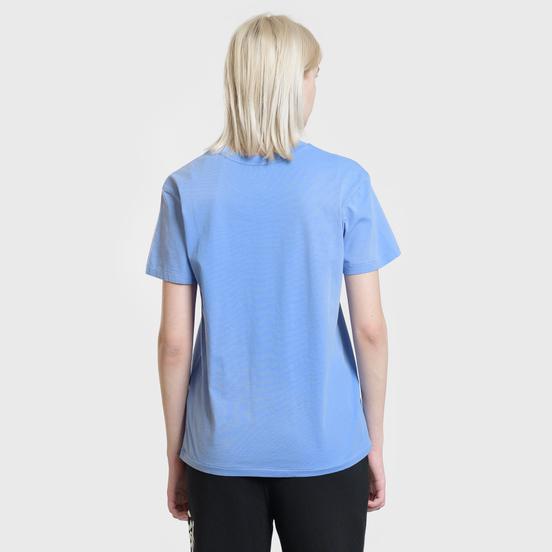 Женская футболка Polo Ralph Lauren Big Polo Print Lake Blue