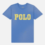Женская футболка Polo Ralph Lauren Big Polo Print Lake Blue фото- 0