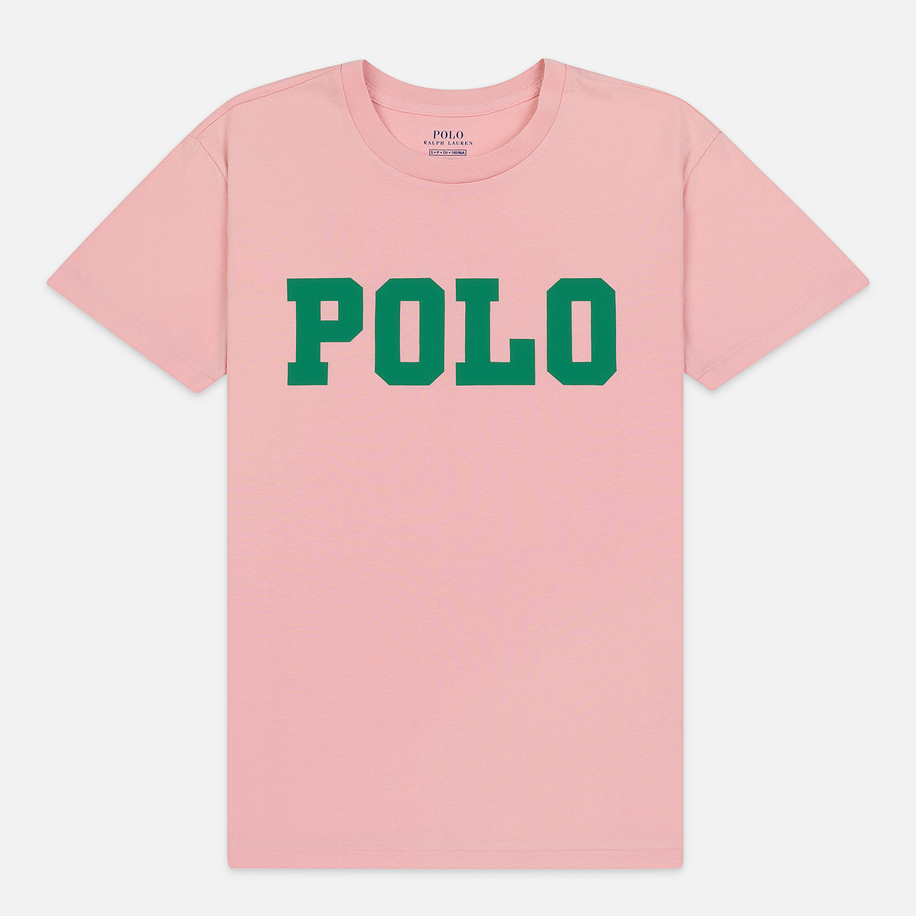 Женская футболка Polo Ralph Lauren Big Polo Print Pink Sand