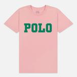 Женская футболка Polo Ralph Lauren Big Polo Print Pink Sand фото- 0