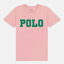 Женская футболка Polo Ralph Lauren Big Polo Print Pink Sand фото- 0
