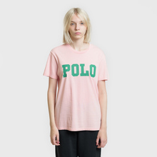 Женская футболка Polo Ralph Lauren Big Polo Print Pink Sand фото- 1