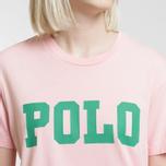 Женская футболка Polo Ralph Lauren Big Polo Print Pink Sand фото- 2