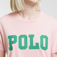 Женская футболка Polo Ralph Lauren Big Polo Print Pink Sand фото- 2