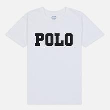 Женская футболка Polo Ralph Lauren Big Polo Print White фото- 0