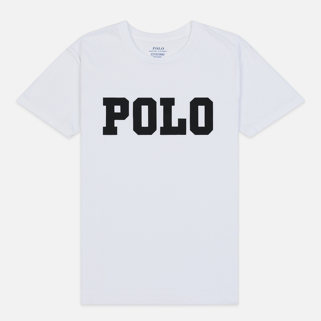 Женская футболка Polo Ralph Lauren Big Polo Print White