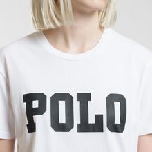 Женская футболка Polo Ralph Lauren Big Polo Print White фото- 2