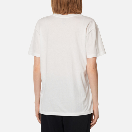 Женская футболка Polo Ralph Lauren Coat Bear 40/1 Cotton Jersey White