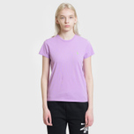 Женская футболка Polo Ralph Lauren Embroidered Logo 30/1 Cotton Jersey Club Purple фото- 1