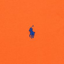 Женская футболка Polo Ralph Lauren Embroidered Logo 30/1 Cotton Jersey Fiesta Orange фото- 2