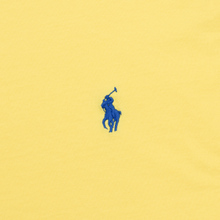 Женская футболка Polo Ralph Lauren Embroidered Logo 30/1 Cotton Jersey Lemon Crush фото- 2