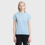 Женская футболка Polo Ralph Lauren Embroidered Logo 30/1 Cotton Jersey Powder Blue фото- 1