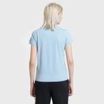 Женская футболка Polo Ralph Lauren Embroidered Logo 30/1 Cotton Jersey Powder Blue фото- 3