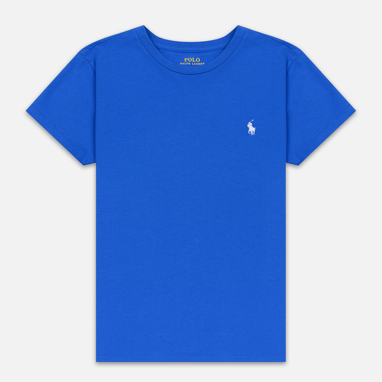 Женская футболка Polo Ralph Lauren Embroidered Logo 30/1 Cotton Jersey Spa Royal