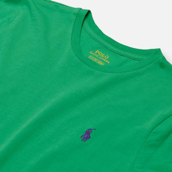 Женская футболка Polo Ralph Lauren Embroidered Logo 30/1 Cotton Jersey Tiller Green